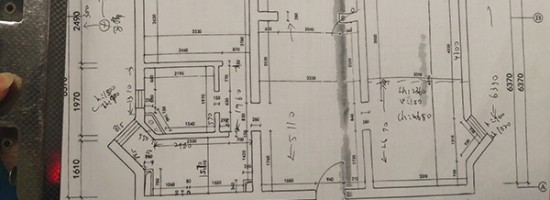 佛山上门现场测量户型图代画现场CAD原始结构尺寸图纸