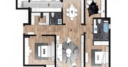 家里的农村自建房要做平面布局设计图应该找谁?