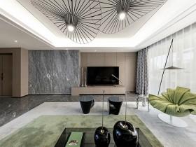 房子层高压抑,怎么设计才能让客厅变得更宽敞和大气?