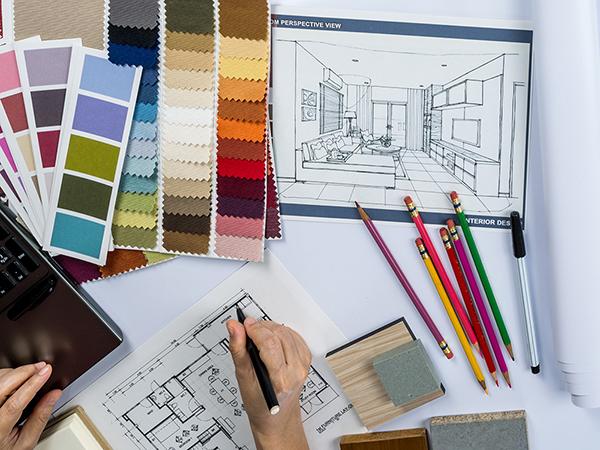 室内设计师手绘